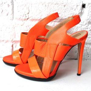 Reed Krakoff Neon Orange Heels
